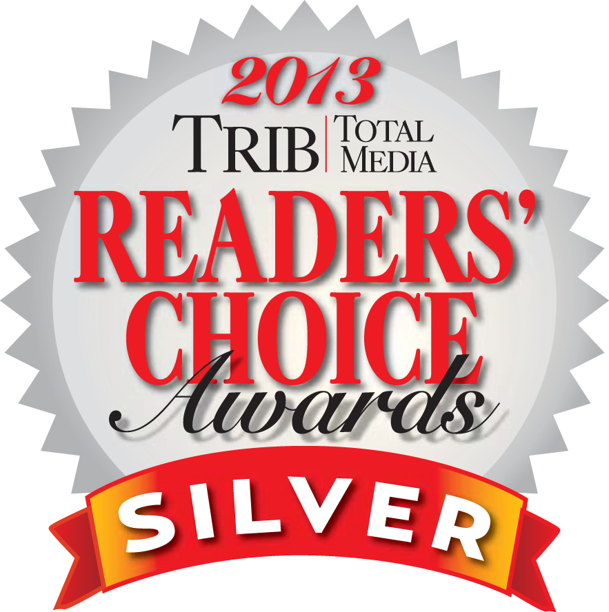 Trib Total Media 2013 Readers' Choice Awards Silver