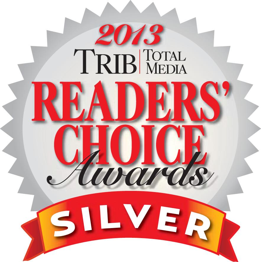 Trib Total Media 2013 Readers' Choice Awards Silver