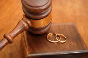 Gavel Wedding Rings